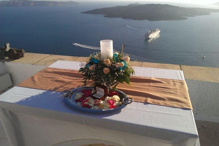 Aigialos Hotel Santorini Restaurant