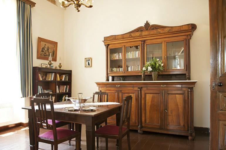 Ermioni Estate, reading corner