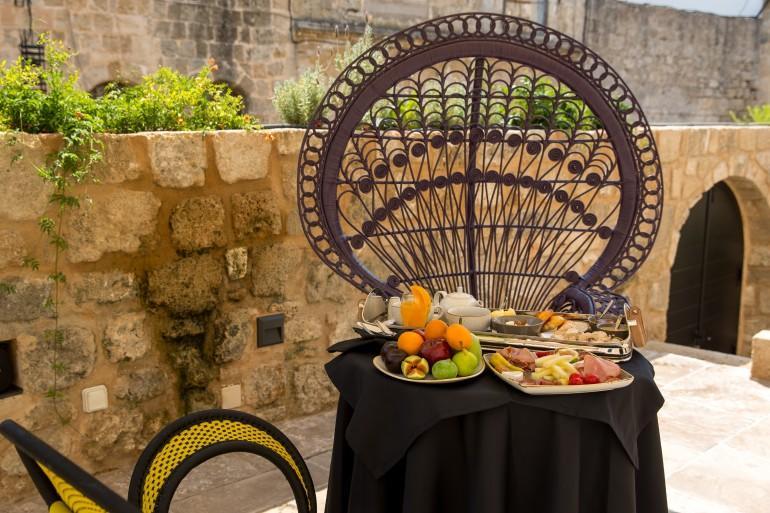 Allegory Boutique Hotel Rhodes Breakfast terrace