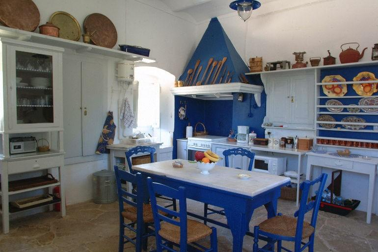 Ermioni Estate, traditional kitchen area